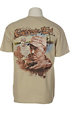 Swamp People® Men's Sand Troy Landry's Choot 'Em T-Shirt