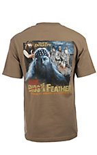 Duck Dynasty� Men's Safari Tan Beards of a Feather T-Shirt