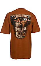 Duck Dynasty Men's Texas Orange Brothers Of The Beard T-Shirt