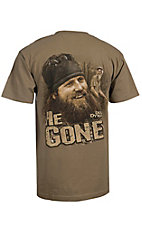 Duck Dynasty Men's Safari Green He Gone T-Shirt