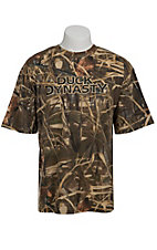 Duck Dynasty® Men's Realtree™ Max-4 Camo Logo T-Shirt