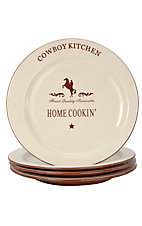 M&F Western Products® Cowboy Kitchen Salad Plate