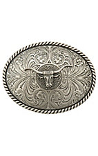 Montana Silversmiths® Steer Head Buckle