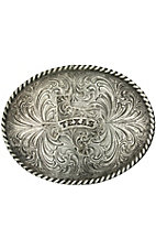 Montana Silversmiths®Texas Medium Oval Texas Rope Buckle