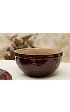 M&F Western Products® Silverado Brown and Tan 4 Piece Bowls