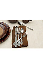 M&F Western Products® Engraved Silverware 20 Piece Set