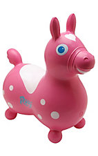 Gymnic® Cavallo RODY Pink & White Inflatable Horse