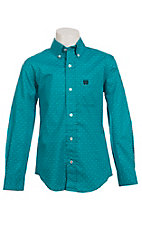 Cinch L/S Boys Fine Weave Shirt 7060088
