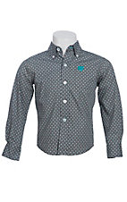 Cinch L/S Toddler Fine Weave Shirt 7061090