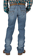 Cinch Men's Medium Wash Ian Mid Rise Slim Fit Boot Cut Jean 72336001