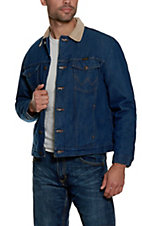 Wrangler Blanket Lined Prewashed Denim Jacket  Big and Talls