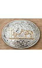 M&F Western Products Inc. ® Praying Cowboy Buckle 8008048