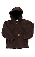 Carhartt® Boys Mustang Brown Active Jacket- Sizes 4-7