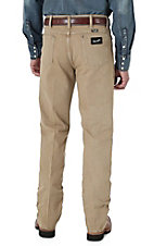 Wrangler® Cowboy Cut™ Silver Edition Tan Slim Fit Jeans