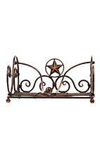 M&F Western Products® Star and Barbwire Metal Napkin Holder