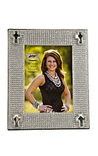 M&F® Western Moments™ Clear Jeweled Cross Picture Frame 4 x 6