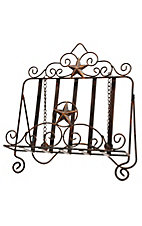 M&F® Western Moments™ Silverado Metal Star Cookbook Easel