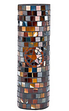 M&F Western Products® Mosaic Star Tall Candle Vase