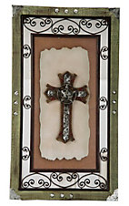 M&F Western Products® Scrolled Wood Frame Cross