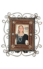 M&F Western Products® Twisted Metal Picture Frame (4x6in)