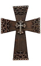 M&F Western Products® Wood & Iron Wall Cross