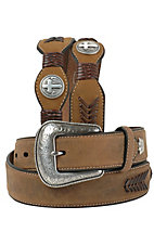 Larry Mahan Men's Western Belt 9700444