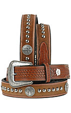 Larry Mahan Men's Western Belt 9700848