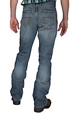 Cinch® Men's Medium Wash Meade Relaxed Straight Leg Jeans
