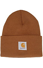 Carhartt® Brown Acrylic Knit Watch Cap