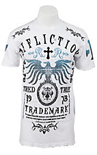 Affliction® Men's White Truth Tried Short Sleeve Tee