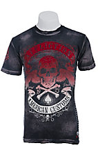 Affliction� Men's Black Speed Run Crewneck Short Sleeve Tee