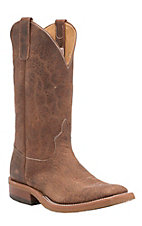 Anderson Bean Mens Briar Bison Crepe Sole Square Toe Western Boot