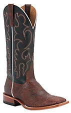 Anderson Bean® Horse Power™ Mens Cognac Mohawk w/ Black Glove Square Toe Boots