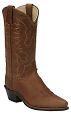 Abilene® Men's Light Brown Snip Toe Western Boots