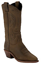 Abilene® Ladies Distressed Brown Western Snip Toe Boot