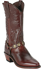 Abilene Boot Company Ladies Antique Brown w/ Bracelet Western Boot