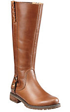 Ariat® Salen™ Ladies Caramel Round Toe Tall Riding Boot