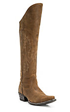 Ariat Murrieta Ladies Soft Distressed Brown Snip Toe Western Boots