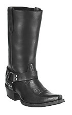 Ariat® Hollywood™ Ladies Powder Black Snip Toe Harness Boot