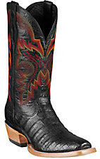 Ariat® Hotwire™ Men's Black Caiman Belly Dual Pro DW Punchy Square Toe Western Boots