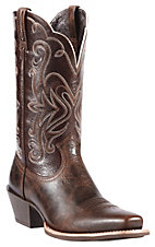 Ariat Women's Chocolate Chip Legend Punchy Square Toe Western Boot