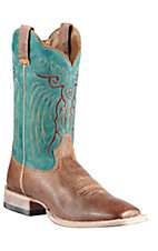 Ariat Mesteno Men's Quicksand Brown w/ Clear Water  Triple Welt Square Toe Western Boot