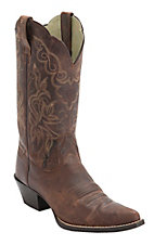 Ariat Women's Sassy Brown Heritage J-Toe Western Boots
