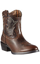 Ariat Billie Women's Sassy Brown with Round Toe Shortie Boot