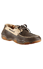 Ariat Caldwell Men's Dark Birch Chocolate/Tan Driving Casual Shoe
