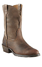 Ariat New West Rambler Earth Bomber R-Toe Western Boots