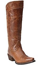 Ariat Sahara Women's Maple Sugar Brown Snip Toe Tall Boots