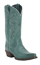 Ariat Women's Alabama Waterfall Teal Snip Toe Western Boot