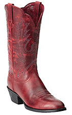 Ariat Women's Redwood Heritage R-Toe Traditional Toe Western Boots