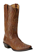 Ariat Men's Blackhawk Country Tan Snip Toe Western Boots
